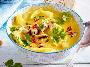 Schmorgurken-Curry Rezept