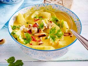Schmorgurken in Curry-Hurry Rezept