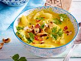 Schmorgurken in Curry-Hurry Rezept