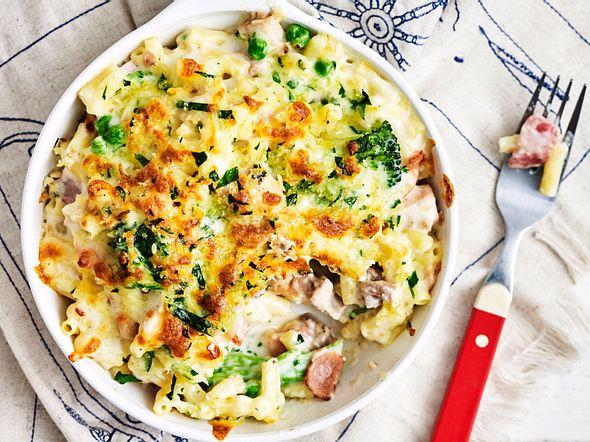 Schnäppchen-Mac-'n'-Cheese mit Brokkoli Rezept