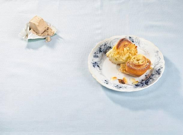 Schnecken-Butterkuchen Rezept