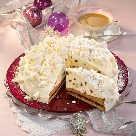 Schneeflocken-Torte Rezept