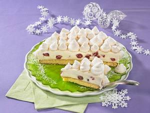 Schneeflocken Torte Rezept