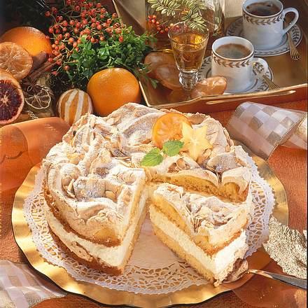 Schneemousse-Torte Rezept