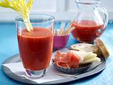 Schnelle Gazpacho mit frischen Tomaten Rezept