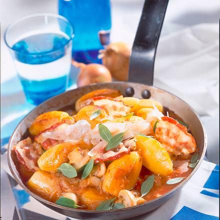 Schnelle Kartoffel-Zwiebel-Pfanne Rezept