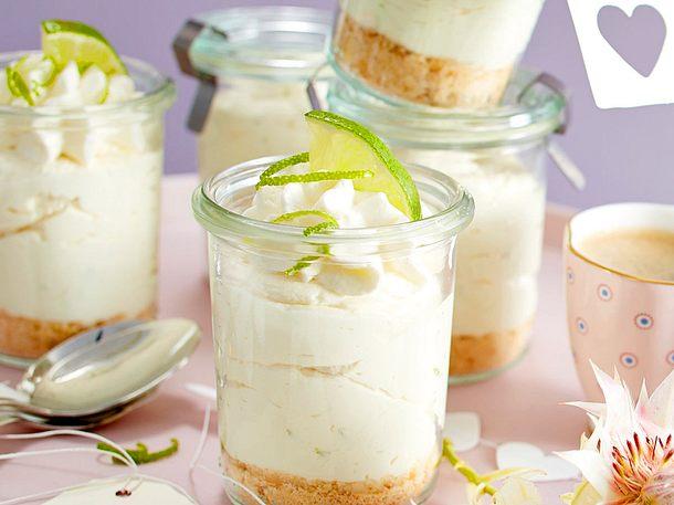 Schnelle Key-Lime-Pie-Mousse Rezept