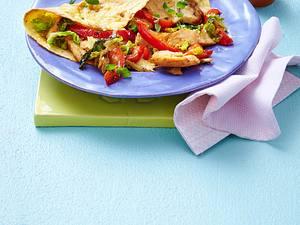 Schnelle Quesadillas mit Hähnchenfilet Rezept