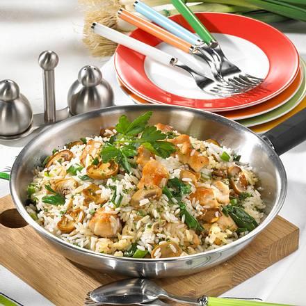 Schnelle Reispfanne Rezept