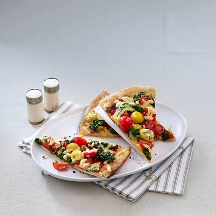 Schnelle Spinatpizza Rezept