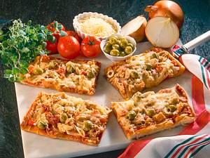 Schnelle Thunfisch-Pizza Rezept