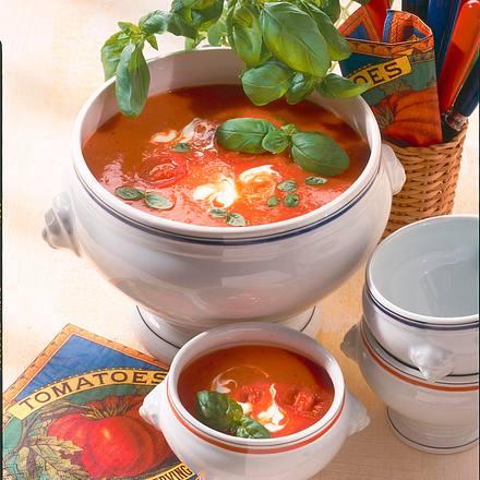 schnelle tomatensuppe rezept chefkoch rezepte auf kochen backen und schnelle gerichte. Black Bedroom Furniture Sets. Home Design Ideas
