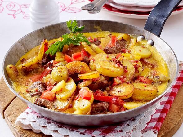 Schnelle Tortilla mit Lammfilet Rezept