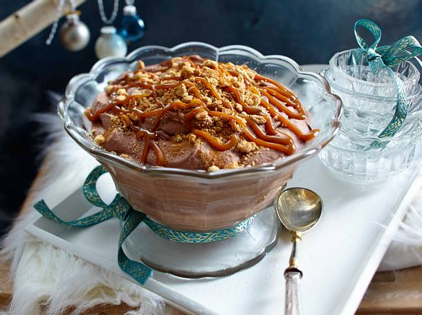 Schnelle Zimt-Mousse au chocolat Rezept