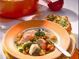 Schneller Gemüseeintopf mit zweierlei Filet Rezept