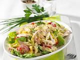 Schneller Nudel-Fleischsalat Rezept