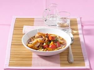 Schneller-Ratatouille-Eintopf mit Filet im Brotmantel Rezept