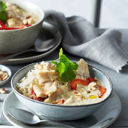 Schnelles Fischcurry Rezept