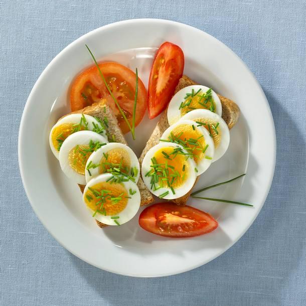 Schnittlauchtoast mit Ei Rezept