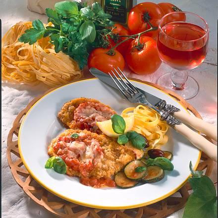 Schnitzel alla napoletana Rezept