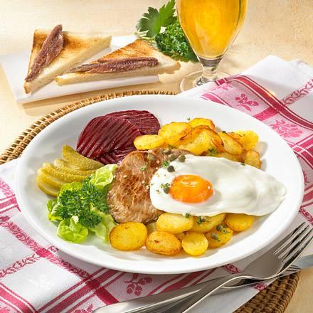 Schnitzel Holstein Rezept
