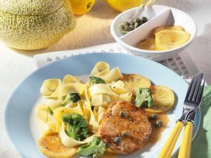 Schnitzel in Zitronensoße Rezept