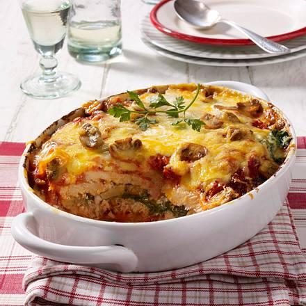Schnitzel-Lasagne Rezept