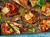 Schnitzel mit Kürbis und Lauchpesto Rezept