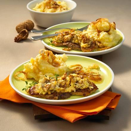 Schnitzel mit Walnusskruste Rezept
