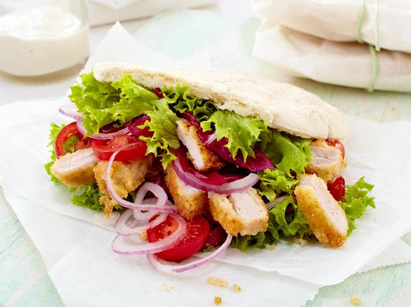 Schnitzel-Sandwich Rezept