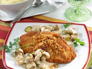 Schnitzel Stroganoff Rezept
