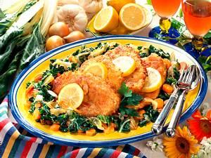 Schnitzel und Mangoldgemüse Rezept