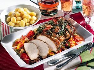 Schnitzelbraten à la Provence Rezept