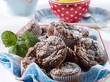 Schoko-Apfel-Mini-Muffins Rezept