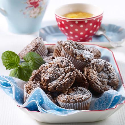Schoko-Apfel-Muffins Rezept