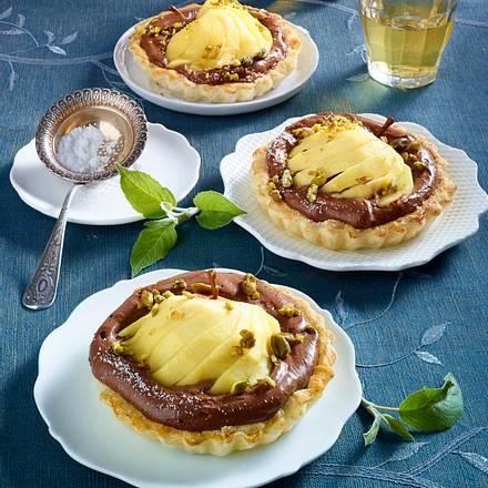 Schoko-Apfel-Tartelettes Rezept