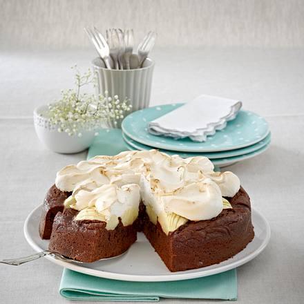 Schoko-Baiser-Kuchen Rezept