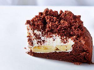 """Schoko-Bananen-Kuchen """"Das größte Glück"""" Rezept"""