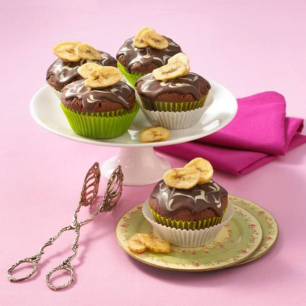 Schoko-Bananen-Muffins Rezept