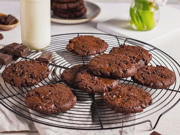 Schoko-Cookies Rezept | LECKER