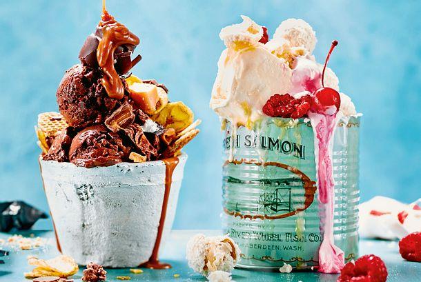 """Icecream-Sunday """"Frozen Yoghurt"""" Rezept"""