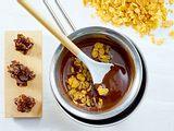 Cornflakes-Kekse mit Schokolade Rezept