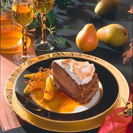 Schoko-Crêpe-Torte Rezept