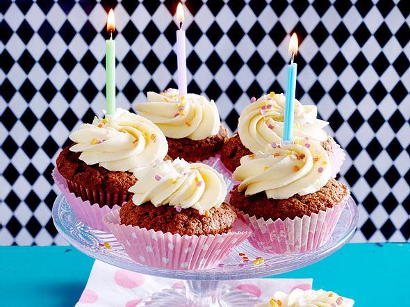 Schoko-Cupcakes Rezept
