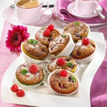 Schoko Himbeer Muffins Rezept