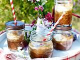 Schoko-Karamell-Eiskaffee Rezept