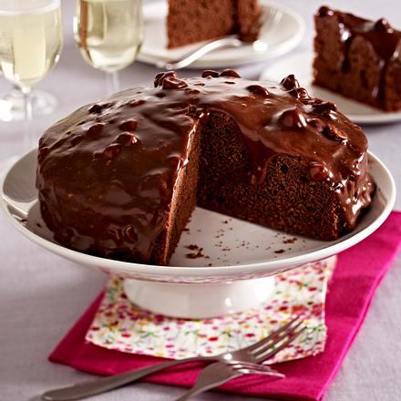 Schoko Karamell Kuchen Rezept Lecker