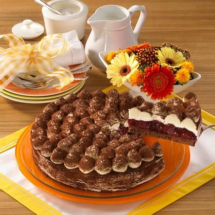 Schoko-Kirsch Torte Rezept