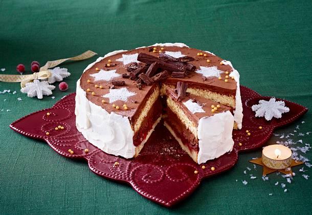 Schoko Kirsch Torte Rezept Lecker