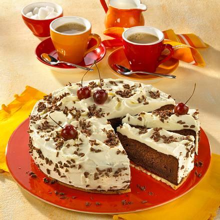 Schoko-Kirsch-Torte (kalorienreduziert) Rezept